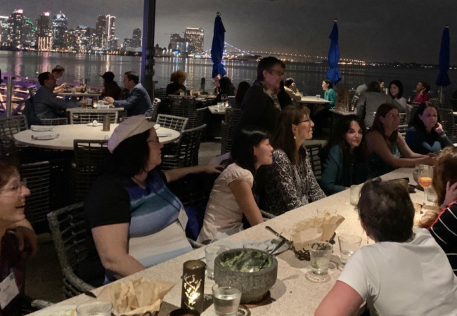 San Diego chapter dinner